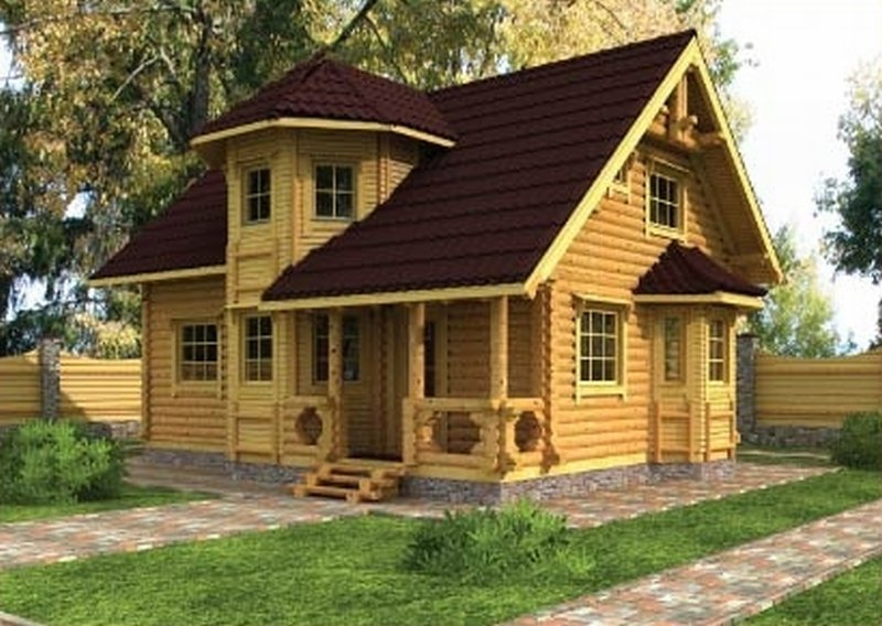 Деревянный дом своими руками с чего начать