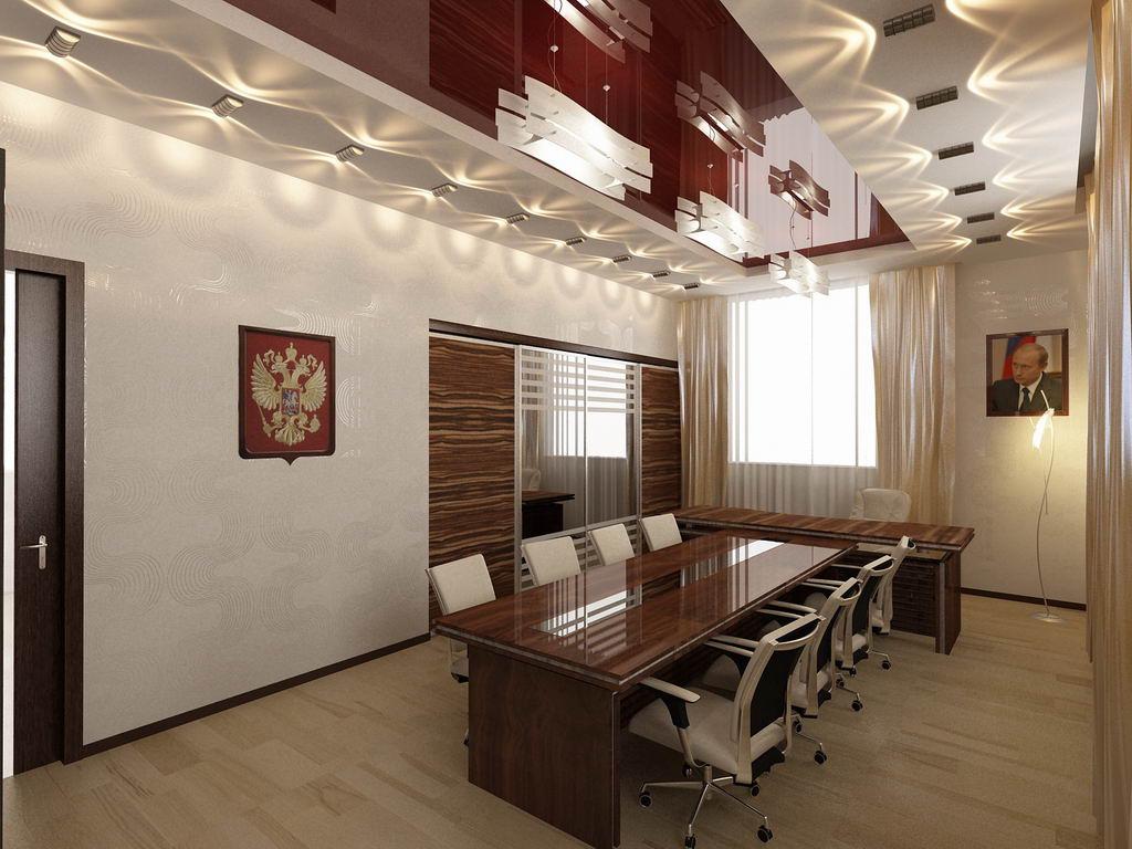 Дизайн рабочего кабинета фото